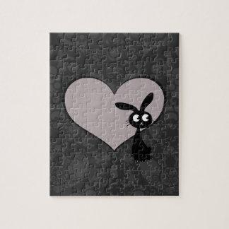 Kuro bunny Love V Jigsaw Puzzle