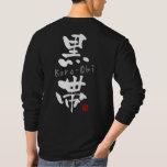 'Kuro-Obi' KANJI (Budo terms) Tee Shirt