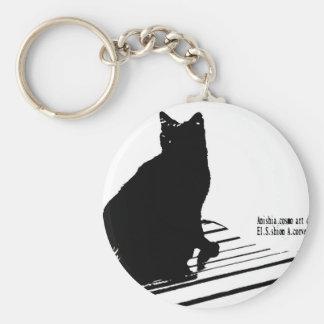 kuroaato Tokyo design cloa art tokyo design 2016 Basic Round Button Keychain