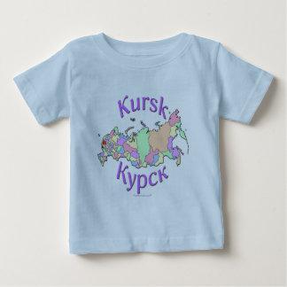 Kursk Russia Map Baby T-Shirt