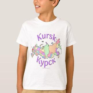 Kursk Russia Map T-Shirt