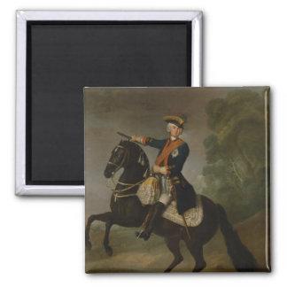 Kurt Christoph Graf von Schwerin on horseback Magnet