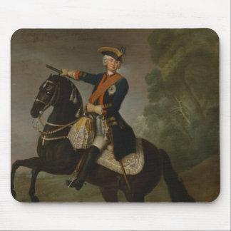 Kurt Christoph Graf von Schwerin on horseback Mouse Pad
