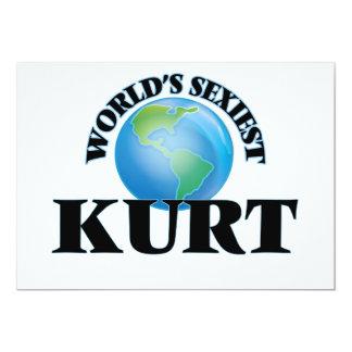"""Kurt más atractivo del mundo invitación 5"""" x 7"""""""