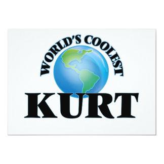 """Kurt más fresco del mundo invitación 5"""" x 7"""""""