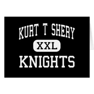 Kurt T Shery - Knights - Continuation - Torrance Greeting Card