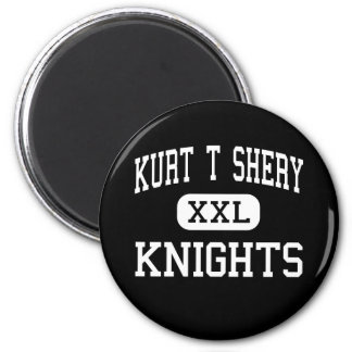 Kurt T Shery - Knights - Continuation - Torrance 2 Inch Round Magnet
