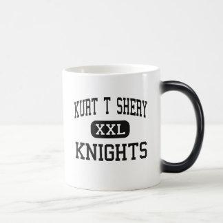 Kurt T Shery - Knights - Continuation - Torrance 11 Oz Magic Heat Color-Changing Coffee Mug