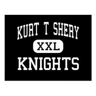 Kurt T Shery - Knights - Continuation - Torrance Postcard