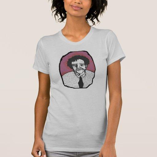 Kurt Vonnegut y el suyo cita la camiseta