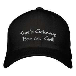 Kurt's Getaway Bar and Grill Embroidered Baseball Cap