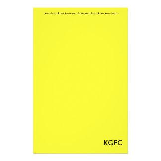 Kururu básico inmóvil papelería personalizada