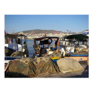 Kusadasi Fishing Harbor Postcard