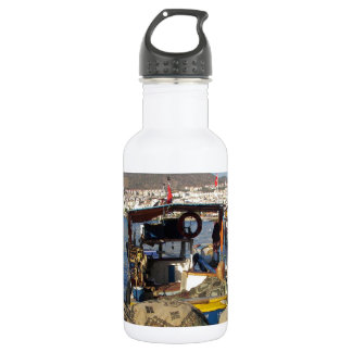 Kusadasi Fishing Harbor Stainless Steel Water Bottle
