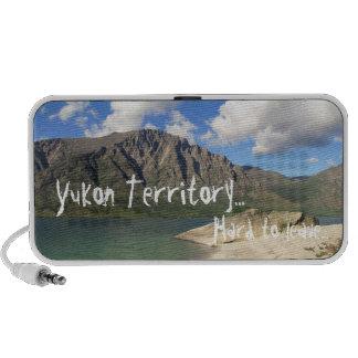 Kusawa Lake; Yukon Territory Souvenir Speakers