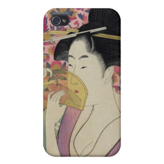 Kushi Comb by Kitagawa Utamaro iPhone 4 Cover