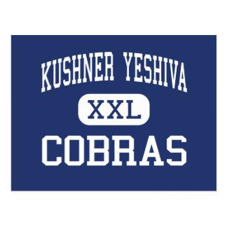 Kushner Yeshiva - Cobras - High - Livingston Postcard
