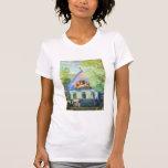 Kustodiev Goluboy, bella arte de Domik Camisetas