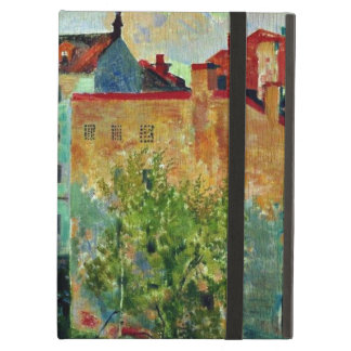 Kustodiev: View from the Window cityscape artwork iPad Air Cover