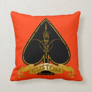 Kustom Ace Throw Pillow