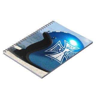 Kustom Helmet Spiral Notebook