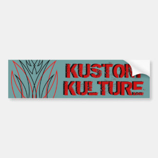 Kustom Kulture Bumper Sticker