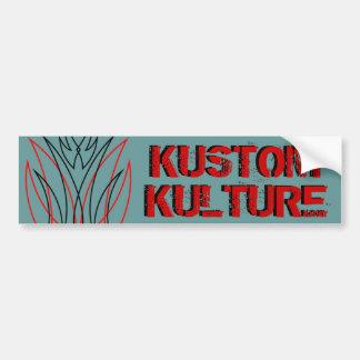 Kustom Kulture Car Bumper Sticker
