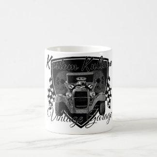 Kustom Kulture Vintage Garage Coffee Mug