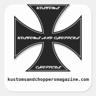 Kustoms and Choppers Magazine Promo Sticker
