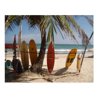 Kuta Beach Postcard