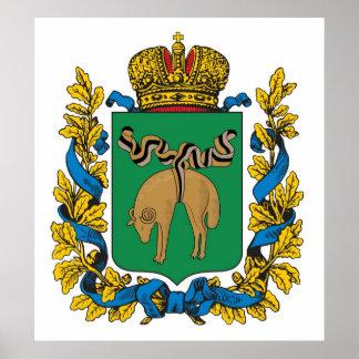 Kutaisi Governorate Russian Empire Print