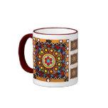 Kutch Bordado-De cerámica, taza de café global del