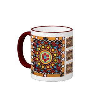 Kutch Embroidery-Ceramic, Global Art Coffee Mug