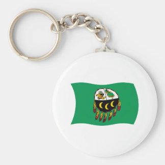 Kutenai Tribe Flag Keychain
