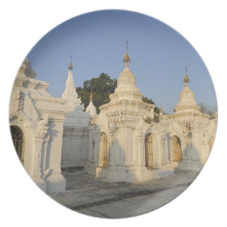 Kuthodaw Pagoda in Mandalay, known as the Melamine Plate