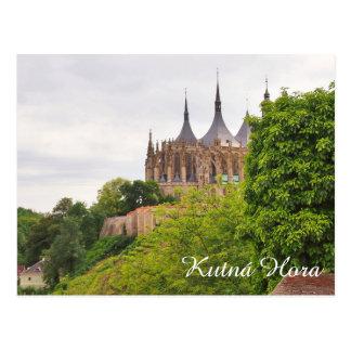 Kutna Hora postcard