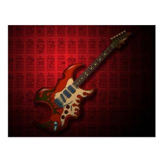 KuuMa Guitar 01 (R) Postcards