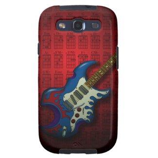KuuMa Guitar 02 (R) Samsung Galaxy SIII Cover