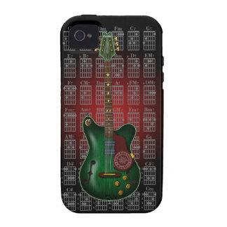 KuuMa Guitar 09 iPhone 4 Cases