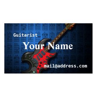 KuuMa Guitar 2 Business Card