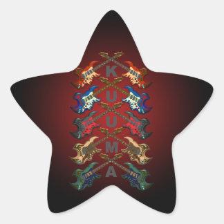 KuuMa Guitar All Star Sticker