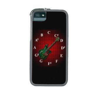 KuuMa Guitar Clock iPhone 5/5S Covers