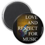 KuuMa Guitar Love 02 Fridge Magnets