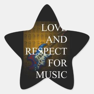 KuuMa Guitar Love 02 Star Sticker