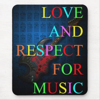 KuuMa Guitar Love 03 Mousepads