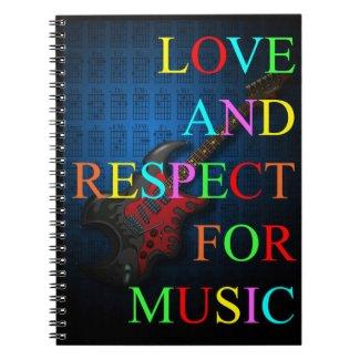 KuuMa Guitar Love 03 Notebooks