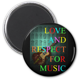 KuuMa Guitar Love 06 Magnet