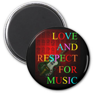 KuuMa Guitar Love 07 Magnet