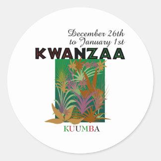 KUUMBA - Creativity Classic Round Sticker