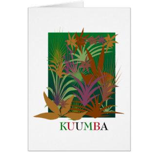 KUUMBA Kwanzaa Holiday Greeting Cards